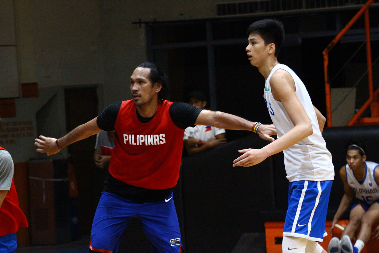 Tiebreaker Times Kai Sotto finally experiences life with the big boys 2019 FIBA World Cup Qualifiers Basketball Gilas Pilipinas News  Kai Sotto 2019 FIBA World Cup Qualifiers