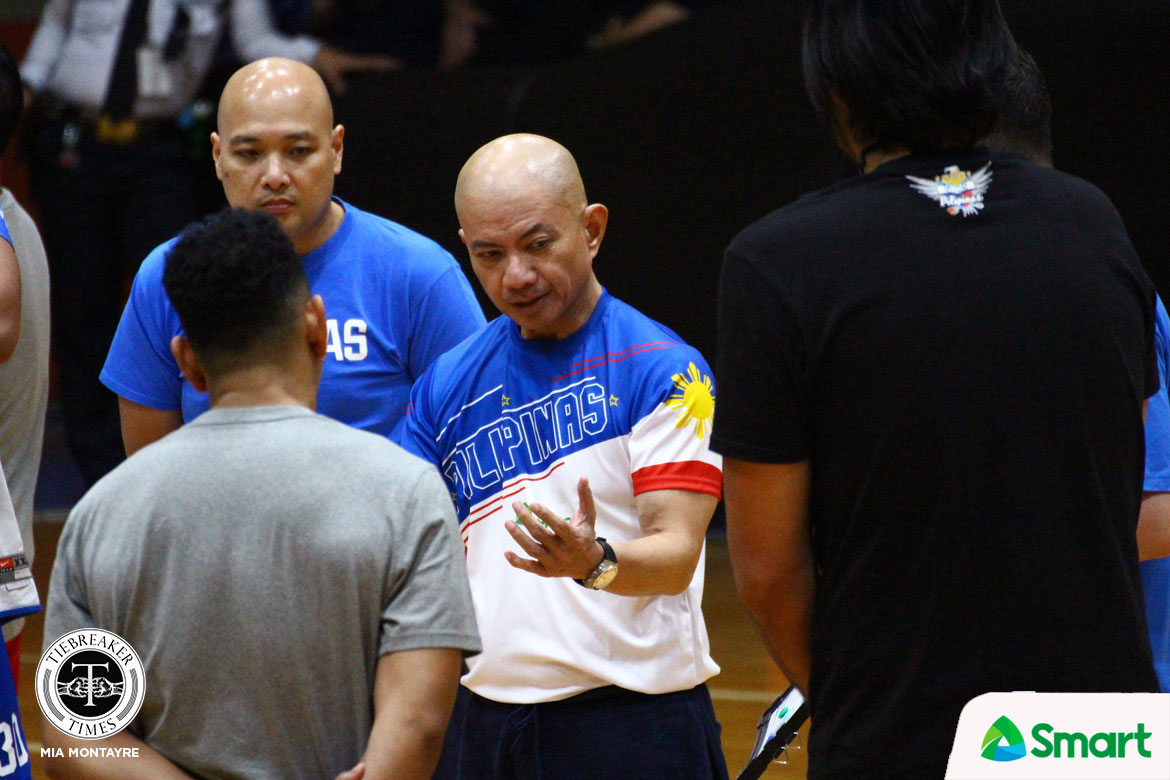 Tiebreaker Times Yeng Guiao not worried about Standhardinger, Pringle absence: 'Yung leftover chemistry is still there' Basketball Gilas Pilipinas News  Yeng Guiao 2019 FIBA World Cup Qualifiers