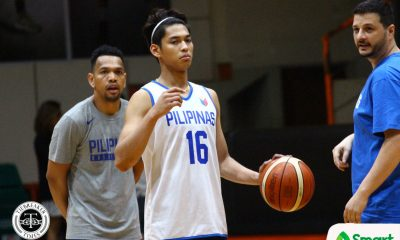 Tiebreaker Times Ricci Rivero tempers expectations on making it to Final 12: 'Ang iniisip ko lang is to learn' 2019 FIBA World Cup Qualifiers Basketball Gilas Pilipinas News  Ricci Rivero 2019 FIBA World Cup Qualifiers