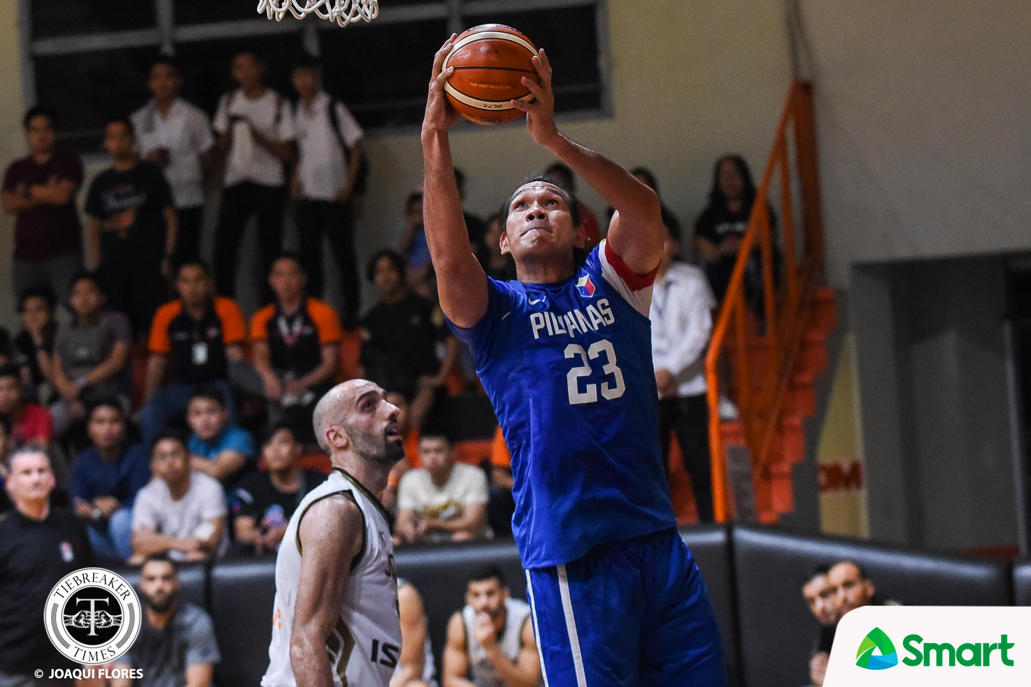 Tiebreaker Times Gun-shy Ricci Rivero urged to shoot his shot 2019 FIBA World Cup Qualifiers Basketball Gilas Pilipinas News  Ricci Rivero Gilas Elite 2019 FIBA World Cup Qualifiers