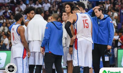 Tiebreaker Times Vengeful Kazakhstan drops Gilas to tie with Japan 2019 FIBA World Cup Qualifiers Basketball Gilas Pilipinas News  Yeng Guiao Stanley Pringle Renatas Kurilionokas Marcio Lassiter Kazakhstan (Basketball) June Mar Fajardo Gilas Elite Anton Bykov Alexandr Zhigulin 2019 FIBA World Cup Qualifiers