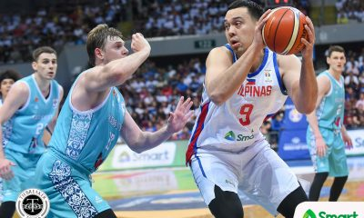 Tiebreaker Times SBP lauds Greg Slaughter for focusing on Gilas return Basketball News PBA  Greg Slaughter Gilas Pilipinas Men Butch Antonio