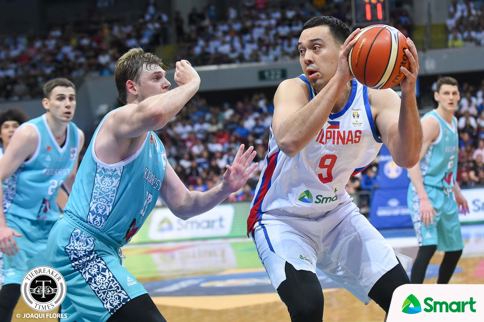 Tiebreaker Times Slaughter takes Pogoy's place in Gilas SEA Games team 2019 SEA Games Basketball Gilas Pilipinas News  Roger Pogoy Greg Slaughter Gilas Pilipinas Men 2019 SEA Games - Basketball 2019 SEA Games