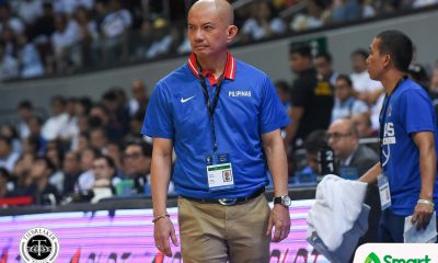 Tiebreaker Times Yeng Guiao hoping Gilas gets more than 10 days of break to get tune-ups -- including vs Australia 2019 FIBA World Cup Qualifiers Basketball Gilas Pilipinas News  Yeng Guiao Willie Marcial Gilas Elite 2019 FIBA World Cup