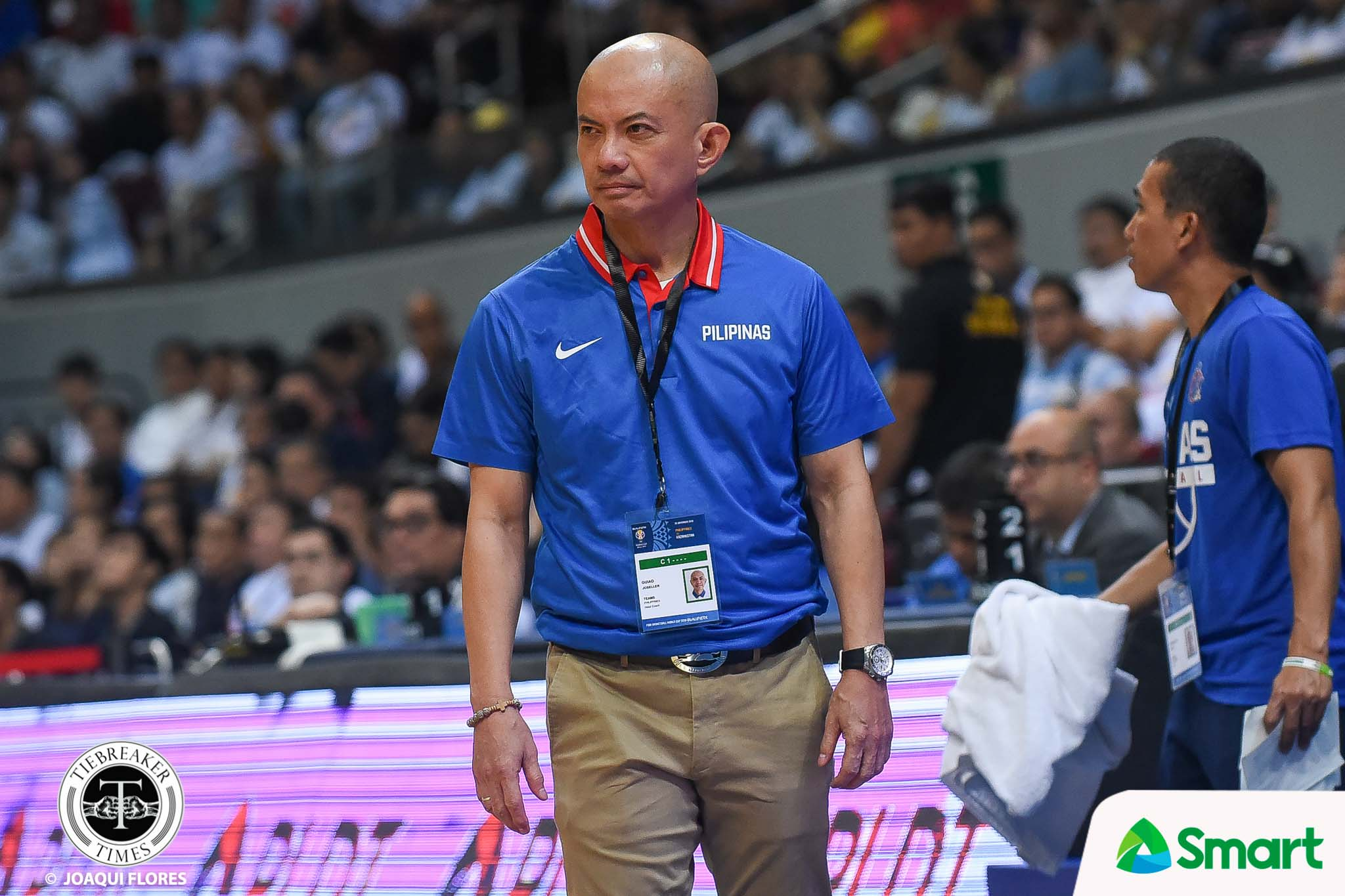 Tiebreaker Times Yeng Guiao takes responsibility for Gilas loss 2019 FIBA World Cup Qualifiers Basketball Gilas Pilipinas News  Yeng Guiao Gilas Elite 2019 FIBA World Cup Qualifiers