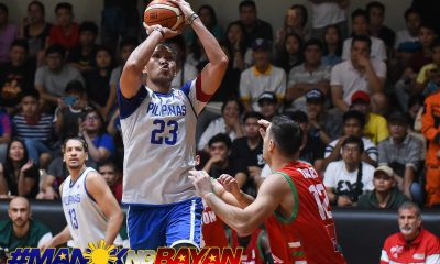 Tiebreaker Times Fajardo, Pogoy power Gilas escape of Alab in tune-up 2019 SEA Games ABL Alab Pilipinas Basketball Gilas Pilipinas News PBA  Tim Cone Stanley Pringle Roger Pogoy Louie Vigil June Mar Fajardo Jimmy Alapag Jeremiah Grey Jason Brickman Gilas Pilipinas Men gilas friendly Brandon Rosser Andrei Caracut Adrian Forbes 2019-20 ABL Season 2019 SEA Games - Basketball 2019 SEA Games