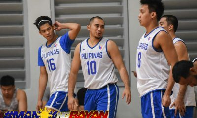 Tiebreaker Times Paul Lee, Ricci Rivero suit up as 14-man Gilas faces Lebanon in tune-up 2019 FIBA World Cup Qualifiers Basketball Gilas Pilipinas News  Yeng Guiao Stanley Pringle Slobodan Subotic Scottie Thompson Ricci Rivero Paul Lee Matthew Weight Marcio Lassiter Lebanon (Basketball) LA Tenorio June Mar Fajardo JP Erram Japeth Aguilar Greg Slaughter Gilas Elite Arwind Santos 2019 FIBA World Cup Qualifiers