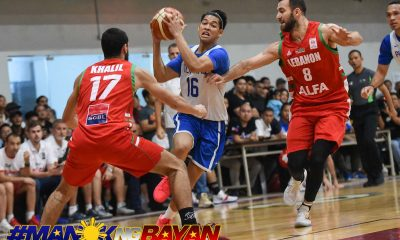Tiebreaker Times Ricci Rivero gives a good account of himself in front of UP fans 2019 FIBA World Cup Qualifiers Basketball Gilas Pilipinas News  Ricci Rivero Gilas Elite 2019 FIBA World Cup Qualifiers