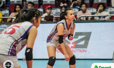 Tiebreaker Times Defending champ Arellano punches Final Four ticket AU EAC MIT NCAA News UPHSD Volleyball  Sandra Dayao Rod Palmero Regine Arocha Perpetual Women's Volleyball Obet Javier Nicole Ebuen Necelle Gual NCAA Season 94 Women's Volleyball NCAA Season 94 Mapua Women's Volleyball Macky Cariño Jaylene Lumbo Hannah Mae Suico Faye Flores EAC Women's Volleyball Clarence Esteban Cindy Imbo Arellano Women's Volleyball Andrea Morano