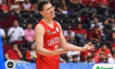 Tiebreaker Times Robert Bolick wanted CJ Perez to be there in Game 1: 'Siyempre, gusto ko yung best niya' Basketball NCAA News SBC  San Beda Seniors Basketball Robert Bolick NCAA Season 94 Seniors Basketball NCAA Season 94