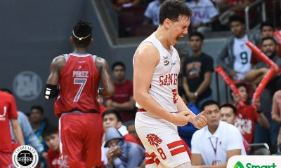 Tiebreaker Times Robert Bolick can finally say he beat the best Basketball NCAA News SBC  San Beda Seniors Basketball Robert Bolick NCAA Season 94 Seniors Basketball NCAA Season 94