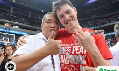 Tiebreaker Times Boyet Fernandez sees Robert Bolick as one of the PBA greats someday Basketball NCAA News SBC  San Beda Seniors Basketball Robert Bolick NCAA Season 94 Seniors Basketball NCAA Season 94 Boyet Fernandez
