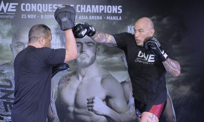Tiebreaker Times After BuyBust, Brandon Vera ready to go back to war Mixed Martial Arts News ONE Championship  ONE: Conquest of Champions Brandon Vera