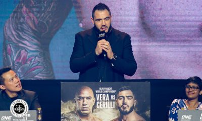 Tiebreaker Times Mauro Cerilli braces for biggest fight in Italian MMA history Mixed Martial Arts News ONE Championship  ONE: Conquest of Champions Mauro Cerilli Brandon Vera