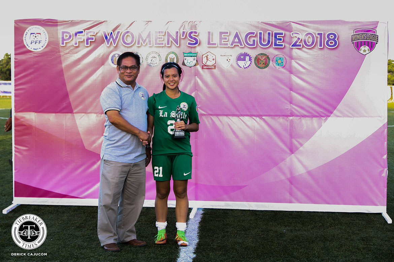 PFFWL-2018-MX-Awards-Hodges-MVP PFFWL Roundup: Undefeated La Salle seizes second straight title Uncategorized  - philippine sports news