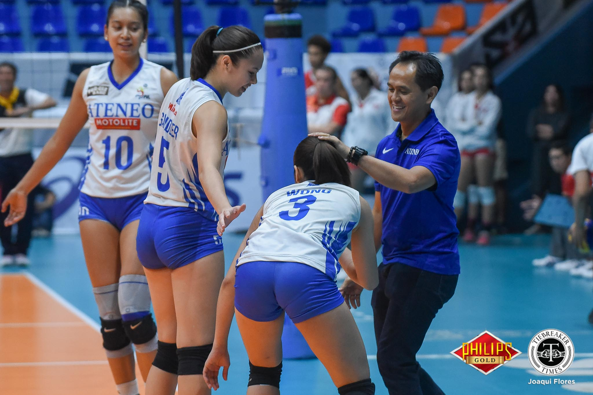 Tiebreaker Times Oliver Almadro optimistic after Ateneo-Motolite loss: 'We have to stand firm in our faith' ADMU News PVL Volleyball  Oliver Almadro Ateneo-Motolite Lady Eagles 2018 PVL Season 2018 PVL Open Conference