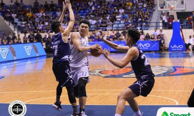Tiebreaker Times After being challenged to produce numbers, Isaac Go delivers ADMU Basketball News UAAP  UAAP Season 81 Men's Basketball UAAP Season 81 Isaac Go Ateneo Men's Basketball