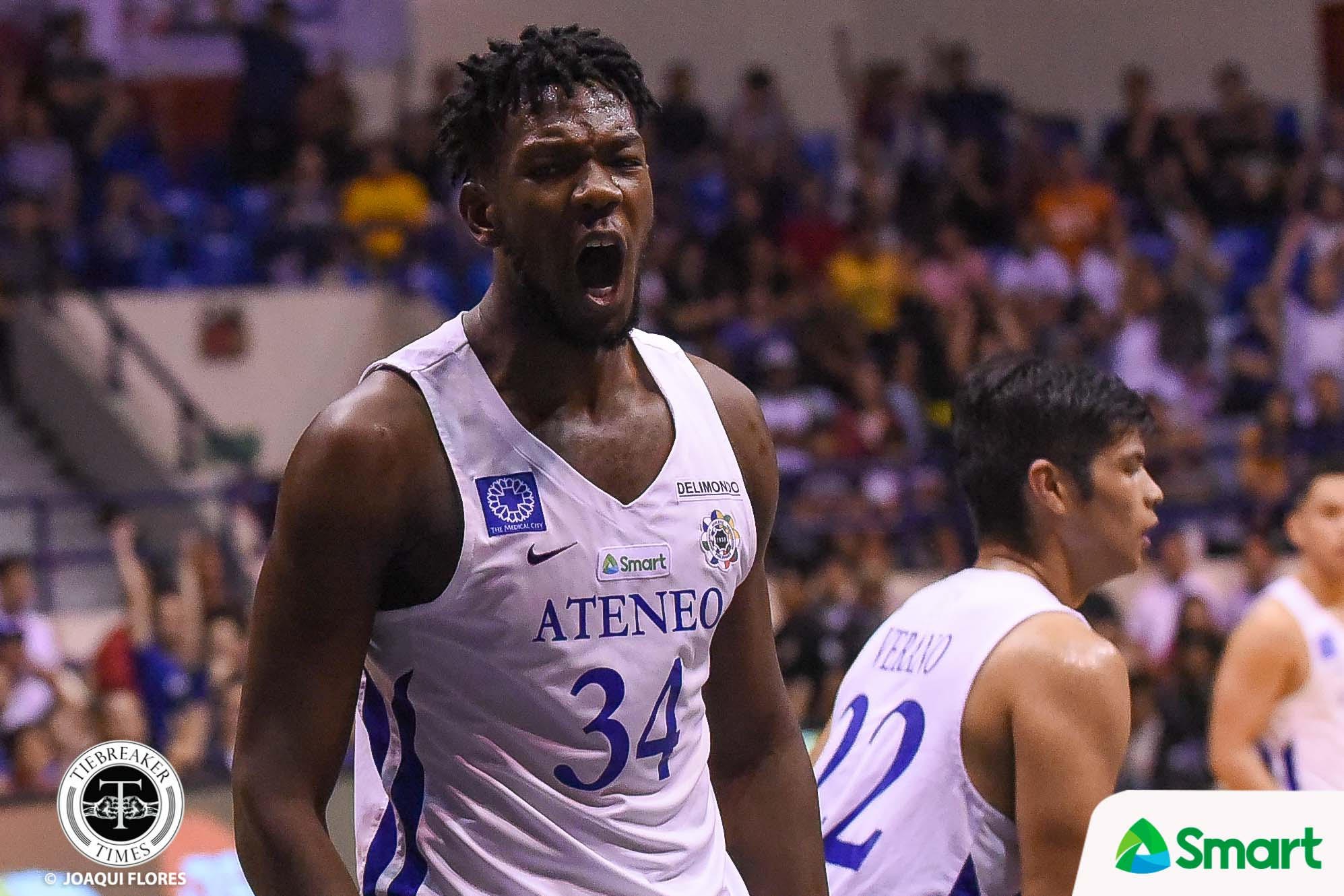 Tiebreaker Times Ateneo much tougher this time around with Kouame, says Olsen Racela ADMU Basketball FEU News UAAP  UAAP Season 81 Men's Basketball UAAP Season 81 Tab Baldwin Olsen Racela FEU Men's Basketball Ateneo Men's Basketball Angelo Kouame