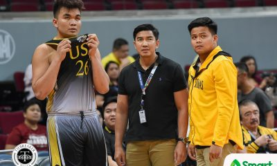 Tiebreaker Times UST never stops for Aldin Ayo as he oversees Team B, Tiger Cubs Basketball News UAAP UST  UST Men's Basketball UAAP Season 81 Men's Basketball UAAP Season 81 Aldin Ayo