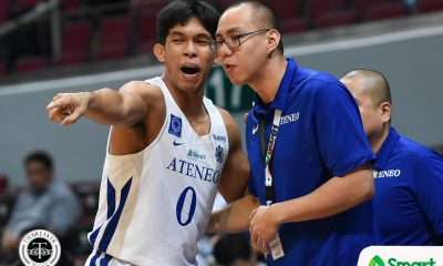 Tiebreaker Times Next man up? Even Sandy Arespacochaga embraces that mindset ADMU Basketball News UAAP  UAAP Season 81 Men's Basketball UAAP Season 81 Sandy Arespacochaga Ateneo Men's Basketball