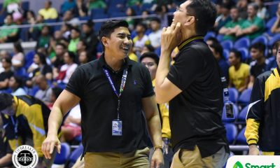 Tiebreaker Times SOURCES: Aldin Ayo's UAAP appeal in motion as UST makes endorsement Basketball News UAAP UST  UST Men's Basketball UAAP Season 83 Men's Basketball UAAP Season 83 Aldin Ayo