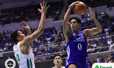 Tiebreaker Times Thirdy Ravena has no qualms about off-the-bench role: 'I'm just doing my job just like my teammates' ADMU Basketball News UAAP  UAAP Season 81 Men's Basketball UAAP Season 81 Thirdy Ravena Sandy Arespacochaga Ateneo Men's Basketball