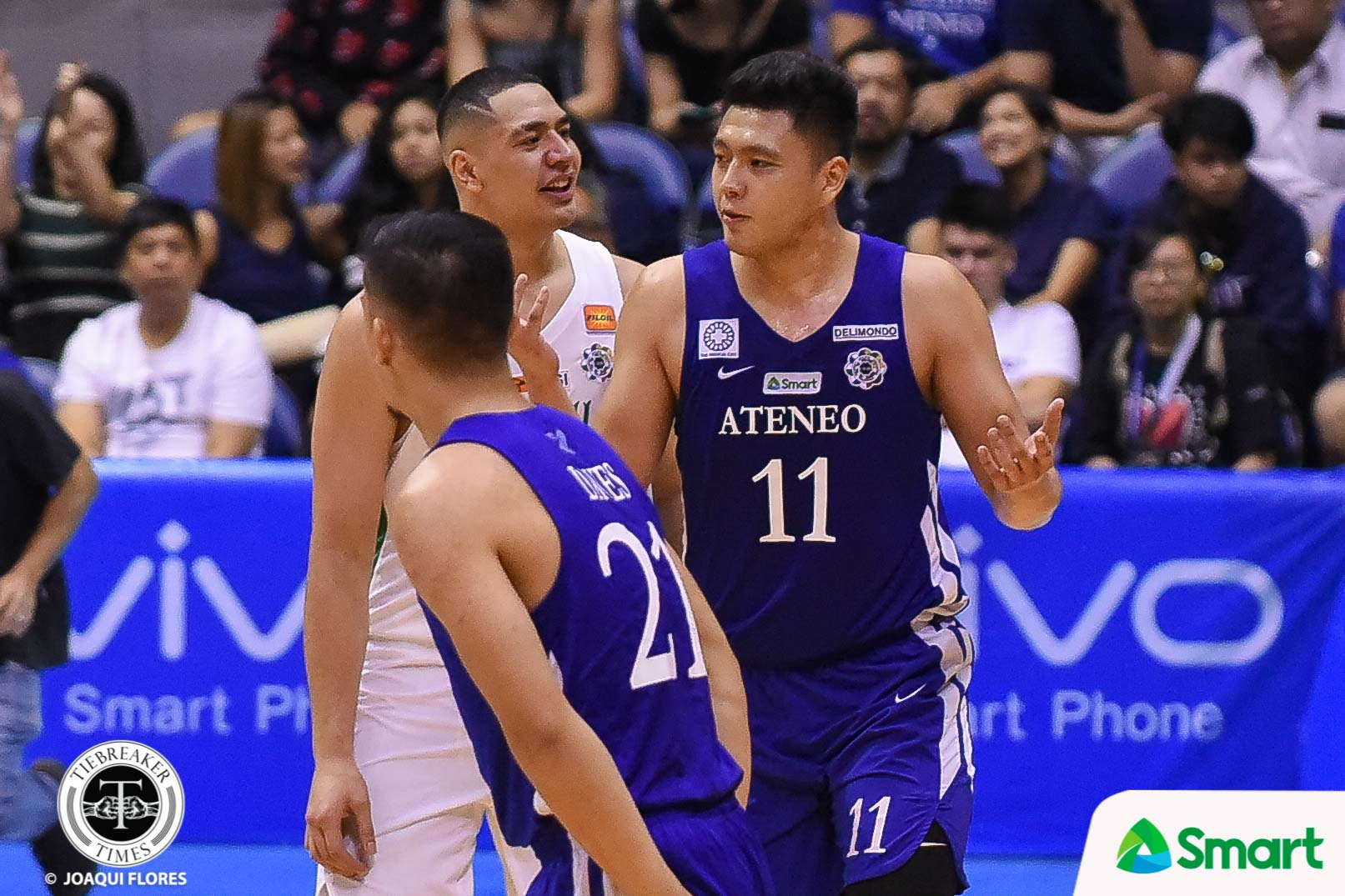 Tiebreaker Times Taane Samuel makes immediate impression on Isaac Go ADMU Basketball DLSU News UAAP  UAAP Season 81 Men's Basketball UAAP Season 81 Taane Samuel Isaac Go DLSU Men's Basketball Ateneo Men's Basketball