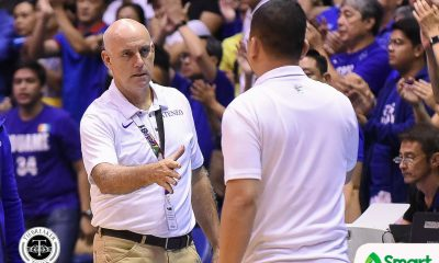 Tiebreaker Times Marcial suggests to Baldwin: Give statement to PBA governors, coaches affected Basketball News PBA  Willie Marcial TNT Katropa Tab Baldwin PBA Season 45