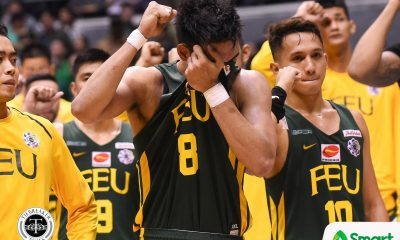 Tiebreaker Times Barkley Ebona embodies FEU's 'Be Brave' mantra Basketball FEU News UAAP  UAAP Season 81 Men's Basketball UAAP Season 81 Nash Racela FEU Men's Basketball Barkley Ebona