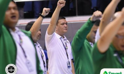 Tiebreaker Times Louie Gonzalez has no regrets in first year with La Salle Basketball DLSU News UAAP  UAAP Season 81 Men's Basketball UAAP Season 81 Santi Santillan Louie Gonzalez Kib Montalbo DLSU Men's Basketball