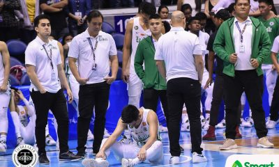 Tiebreaker Times Kib Montalbo's bloodstained shirt exemplifies service to La Salle Basketball DLSU News UAAP  UAAP Season 81 Men's Basketball UAAP Season 81 Kib Montalbo DLSU Men's Basketball