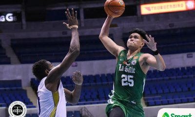 Tiebreaker Times La Salle's balanced attack eliminates NU in prelude to Ateneo showdown Basketball DLSU News NU UAAP  UAAP Season 81 Men's Basketball UAAP Season 81 Santi Santillan NU Men's Basketball Louie Gonzalez Justine Baltazar John Lloyd Clemente Joaqui Manuel Jamike Jarin DLSU Men's Basketball Dave Ildefonso Andrei Caracut Aljun Melecio