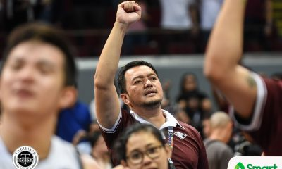 Tiebreaker Times Bo Perasol on cloud nine: 'The asterisk says it all' Basketball News UAAP UP  UP Men's Basketball UAAP Season 81 Men's Basketball UAAP Season 81 Bo Perasol