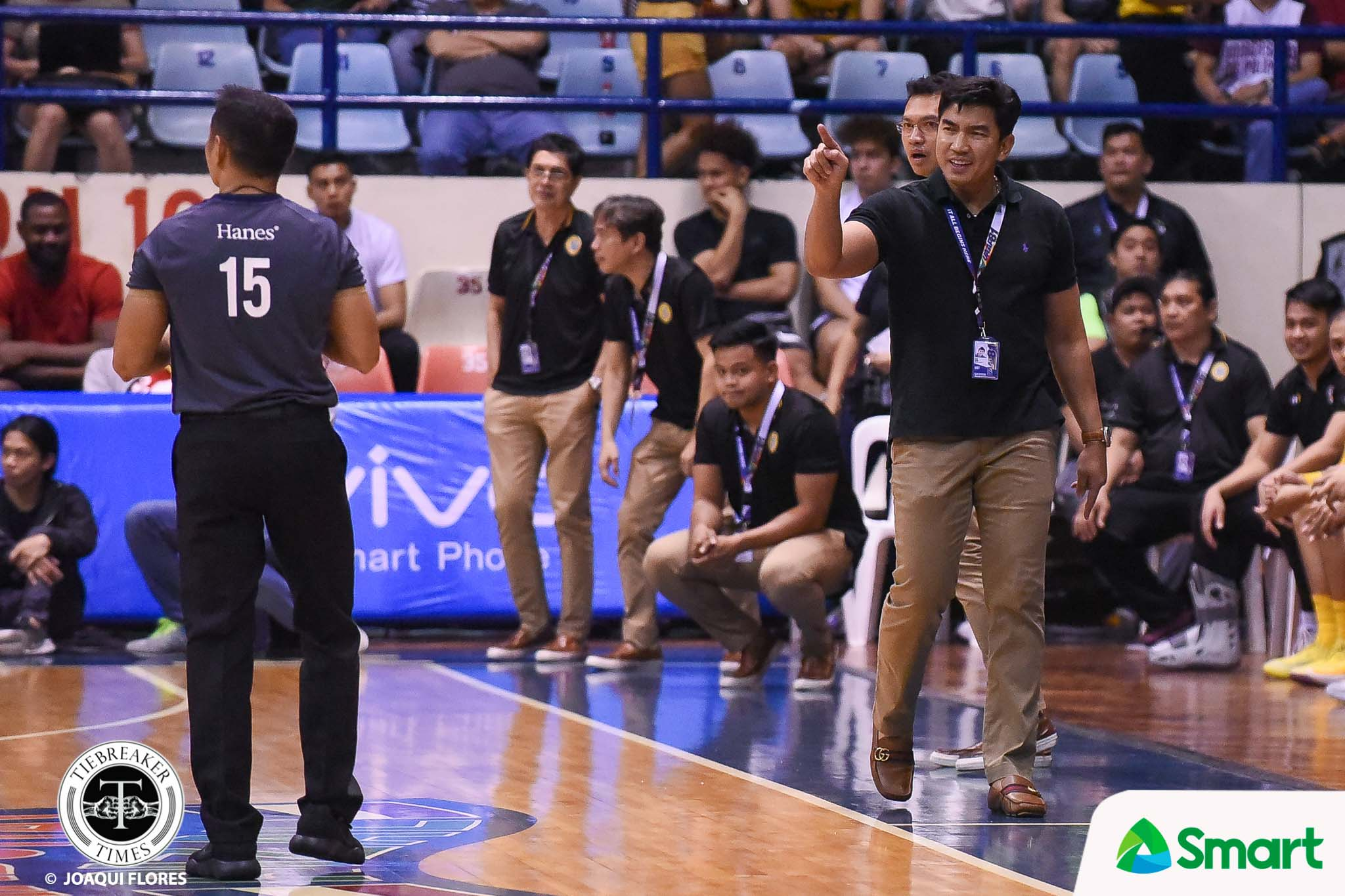 Tiebreaker Times Aldin Ayo remains laser-focused on long-term goal: 'We just did not play our game' Basketball News UAAP UST  UST Men's Basketball UAAP Season 81 Men's Basketball UAAP Season 81 Aldin Ayo