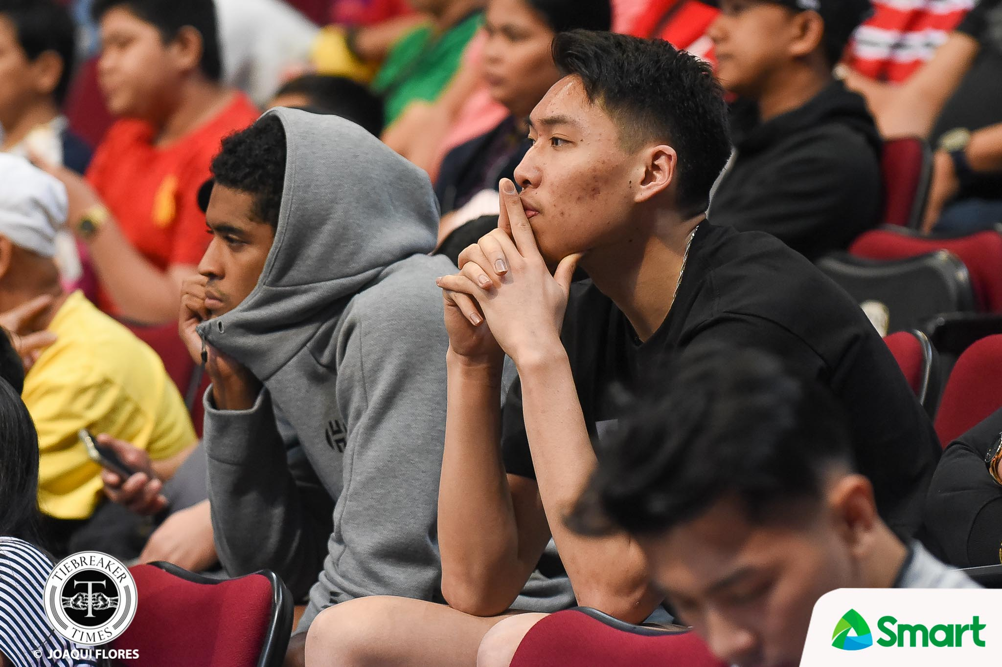 Tiebreaker Times Franz Pumaren on fans questioning Ahanmisi, Manganti injury: 'Go to the hospital, they can check it' AdU Basketball News UAAP  UAAP Season 81 Men's Basketball UAAP Season 81 Sean Manganti Jerrick Ahanmisi Franz Pumaren Adamson Men's Basketball
