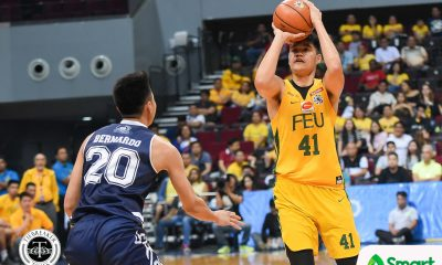 Tiebreaker Times FEU sets up playoff with La Salle as Adamson sits out Ahanmisi, Manganti AdU Basketball FEU News UAAP  Wendelino Comboy UAAP Season 81 Men's Basketball UAAP Season 81 Sean Manganti Olsen Racela Jerrick Ahanmisi Hubert Cani Franz Pumaren FEU Men's Basketball Adamson Men's Basketball