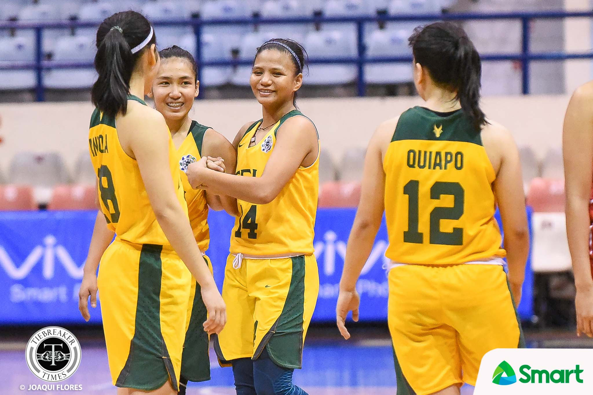 Tiebreaker Times FEU survives Clare Castro ejection, UE to maintain solo second Basketball FEU News UAAP UE  Valerie Mamaril UE Women's Basketball UAAP Season 81 Women's Basketball UAAP Season 81 Princess Pedregosa Princess Ganade Joel Sta. Mina FEU Women's Volleyball Christine Cortizano Anna Requiron Aileen Lebornio