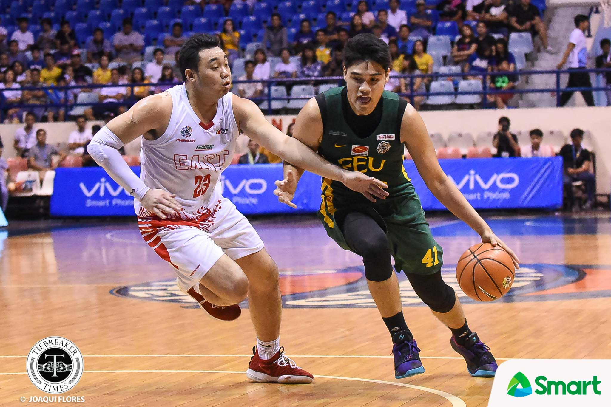 Tiebreaker Times Arvin Tolentino, FEU vent ire on UE, keep Final Four hopes alive Basketball FEU News UAAP UE  UE Men's Basketball UAAP Season 81 Men's Basketball UAAP Season 81 Olsen Racela Kenneth Tuffin Joe Silva FEU Men's Basketball Barkley Ebona Arvin Tolentino Alvin Pasaol