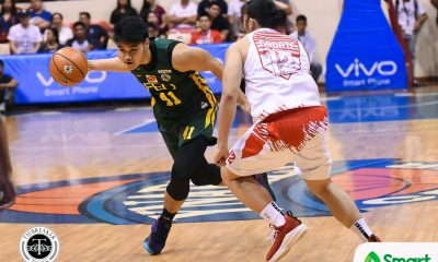 Tiebreaker Times Arvin Tolentino doing his all to make amends with FEU Basketball FEU News UAAP  UAAP Season 81 Men's Basketball UAAP Season 81 Olsen Racela FEU Men's Basketball Arvin Tolentino