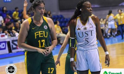 Tiebreaker Times Facing Grace Irebu helped Clare Castro prepare for NU's twin towers Basketball FEU News UAAP  UAAP Season 81 Women's Basketball UAAP Season 81 FEU Women's Basketball Clare Castro Bert Flores