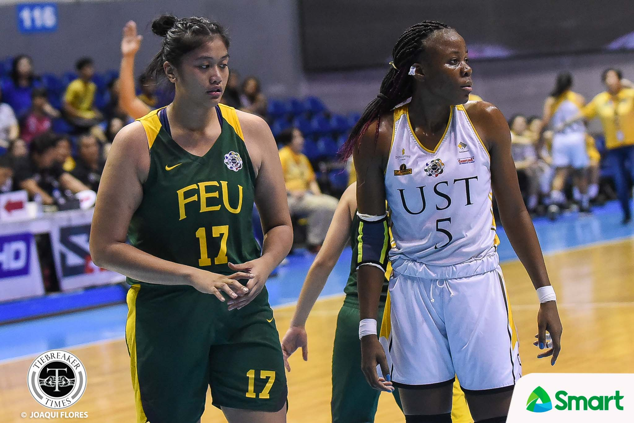 Tiebreaker Times Grace Irebu vows payback for UST come do-or-die Game Two Basketball News UAAP UST  UST Women's Basketball UAAP Season 82 Women's Basketball UAAP Season 82 Grace Irebu