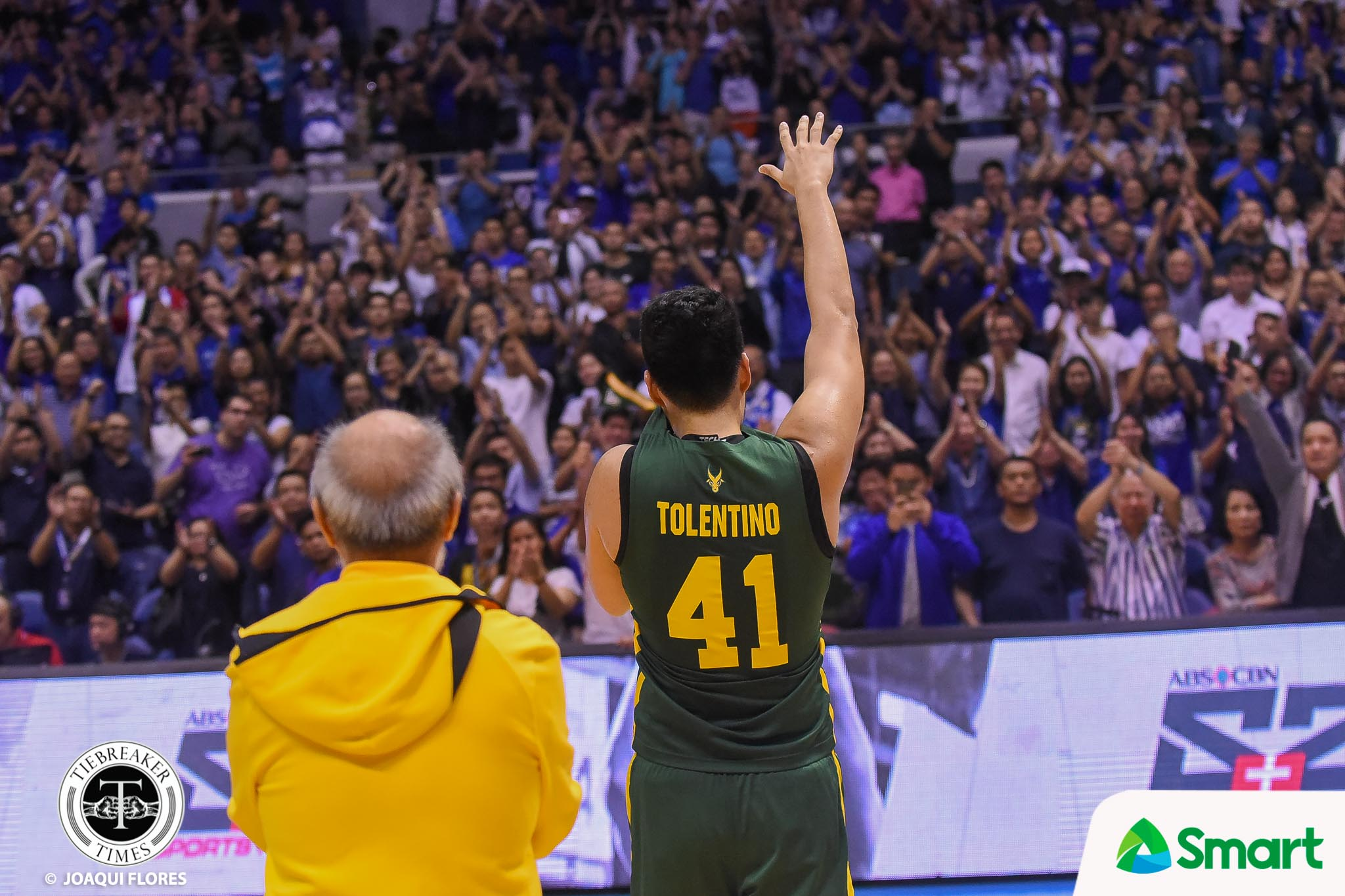 Tiebreaker Times Arvin Tolentino grateful for 'Be Brave' and the 'One Big Fight' Basketball FEU News UAAP  UAAP Season 81 Men's Basketball UAAP Season 81 FEU Men's Basketball Arvin Tolentino