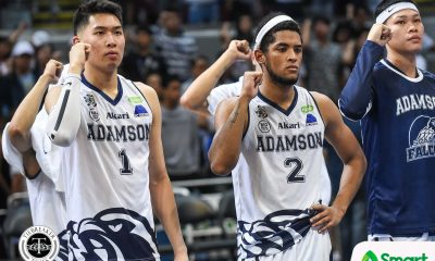 Tiebreaker Times Sean Manganti moves on as Jerrick Ahanmisi looks to adjust for KO game AdU Basketball News UAAP  UAAP Season 81 Men's Basketball UAAP Season 81 Sean Manganti Jerrick Ahanmisi Adamson Men's Basketball