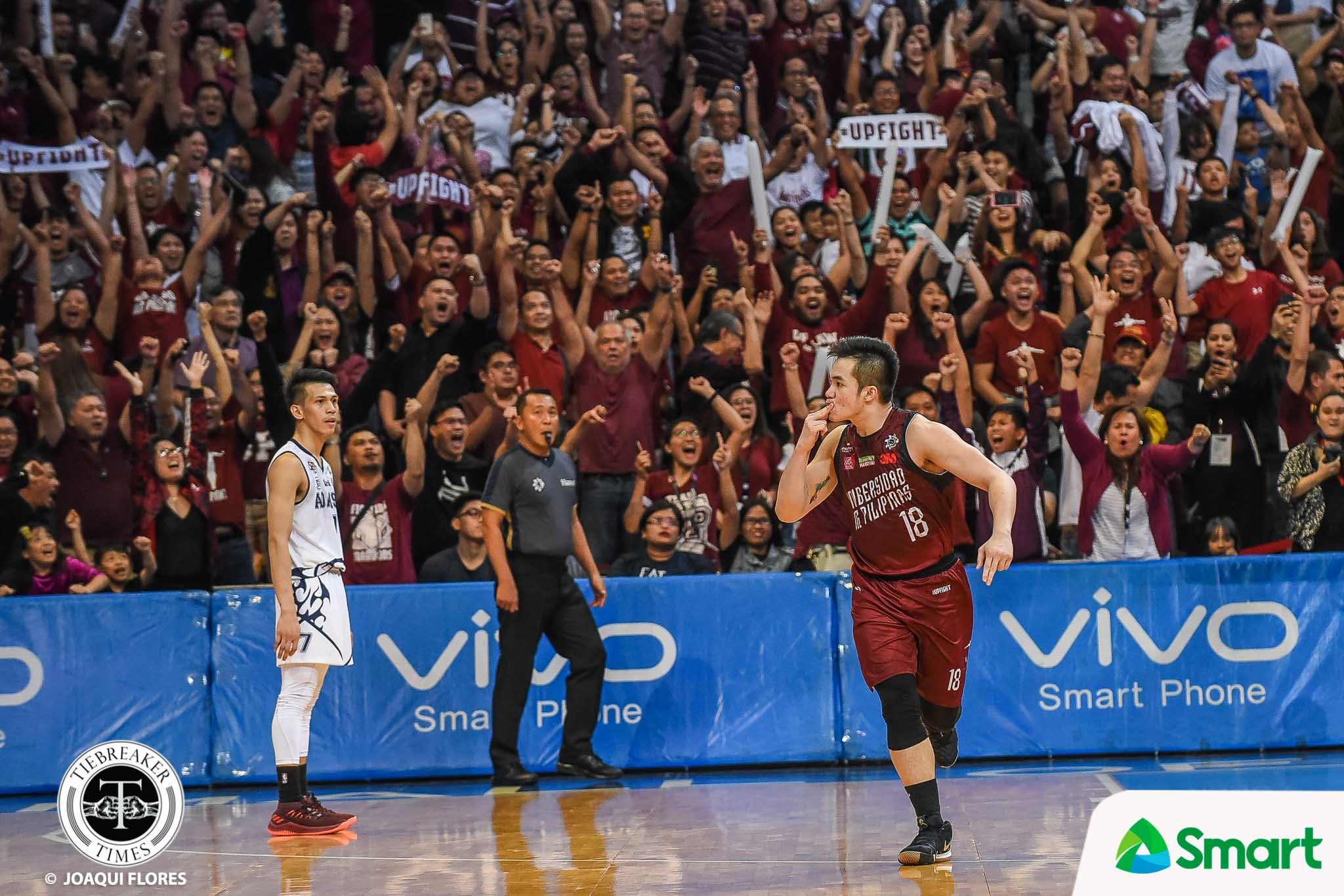 Tiebreaker Times 'Atin 'to' at 'Kami naman': The lasting legacy of Paul Desiderio and Sisi Rondina Basketball News UAAP UP UST Volleyball  UST Women's Volleyball UP Men's Basketball UAAP Season 81 Women's Volleyball UAAP Season 81 Men's Basketball UAAP Season 81 Paul Desiderio Cherry Rondina