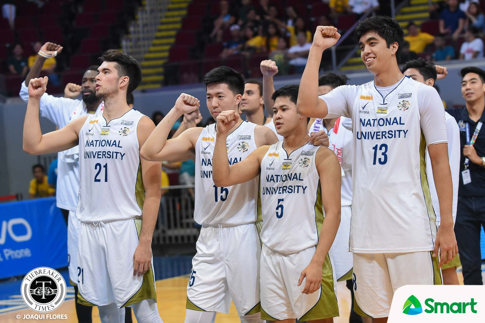 Tiebreaker Times Dave Yu leaves NU with two titles: UAAP Champion and Civil Engineer Basketball News NU UAAP  UAAP Season 81 Men's Basketball UAAP Season 81 NU Men's Basketball Dave Yu