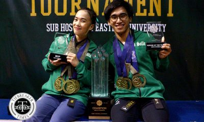 Tiebreaker Times Rinna Babanto caps stellar career by bringing La Salle back to the top ADMU Basketball DLSU FEU News NU UAAP UE UP UST  UST Women's Taekwondo UST Men's Taekwondo UP Women's Taekwondo UP Men's Taekwondo UAAP Season 81 Women's Taekwondo UAAP Season 81 Men's Taekwondo UAAP Season 81 Rinna Babanto Patrick Perez Patricia Jubelag Nicole Oliva Miguel Baladad JP Sabido Jerel Dalida DLSU Women's Taekwondo DLSU Men's Taekwondo Adrian Ang