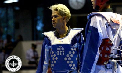 Tiebreaker Times Kurt Barbosa scintillates in SEAG debut with TKD -54kg gold 2019 SEA Games News Taekwondo  Kurt Barbosa 2019 SEA Games - Taekwondo 2019 SEA Games