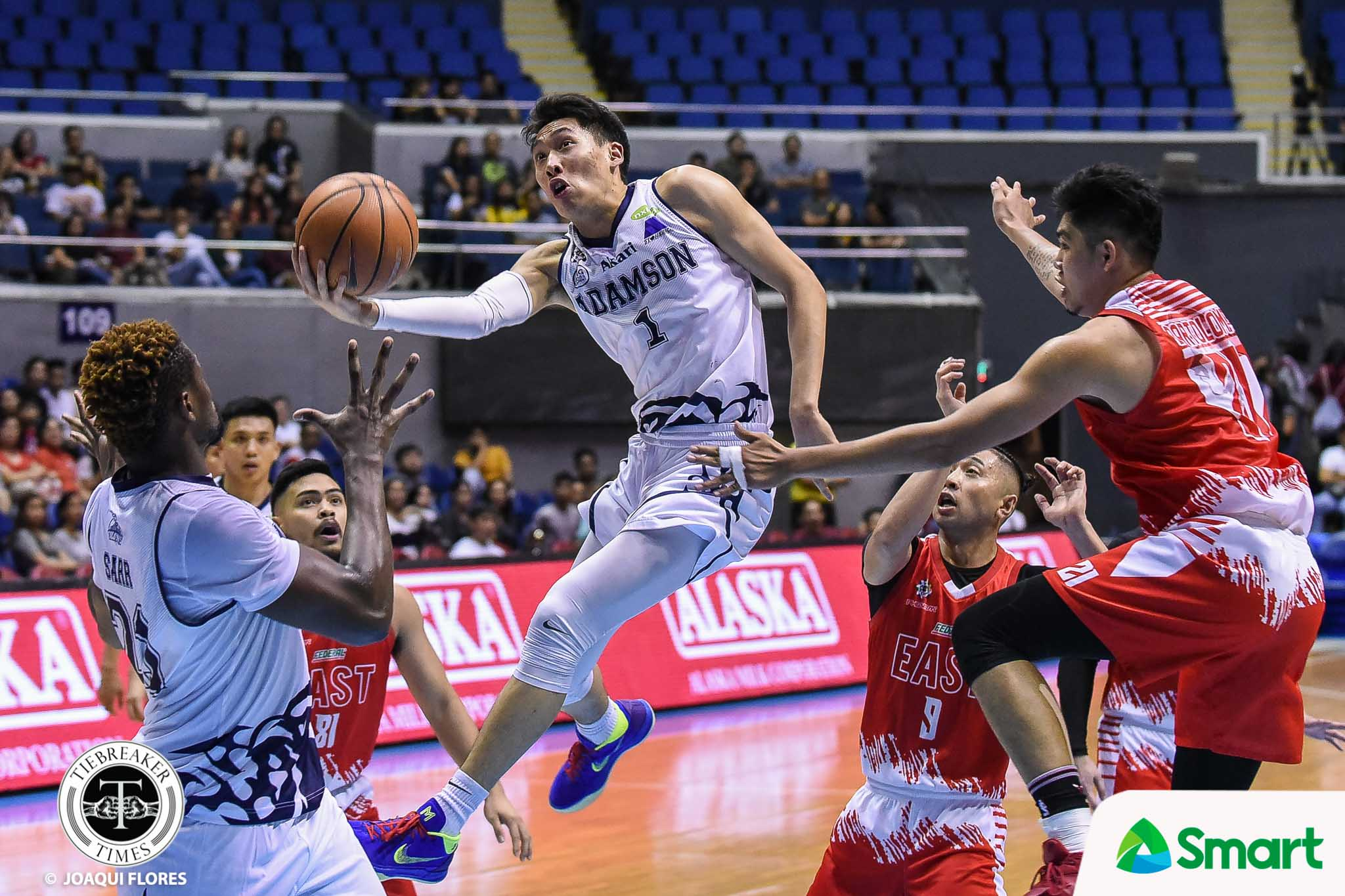 Tiebreaker Times Sean Manganti ready for one last dance with UP AdU Basketball News UAAP  UAAP Season 81 Men's Basketball UAAP Season 81 Sean Manganti Adamson Men's Basketball