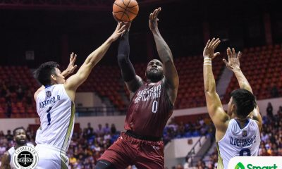 Tiebreaker Times Bright Akhuetie, UP send NU to the brink, take solo fourth Basketball News NU UAAP UP  UP Men's Basketball UAAP Season 81 Men's Basketball UAAP Season 81 Paul Desiderio NU Men's Basketball Juan Gomez De Liano Joshua Sinclair Jamike Jarin Gelo Vito Dave Ildefonso Bo Perasol