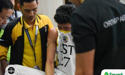 Tiebreaker Times Aldin Ayo shuts down CJ Cansino for final game: 'He had a good season' Basketball News UAAP UST  UST Men's Basketball UAAP Season 81 Men's Basketball UAAP Season 81 CJ Cansino Aldin Ayo